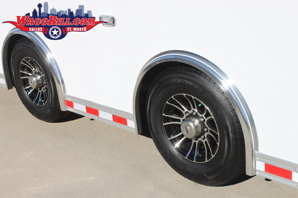 30' Bravo ICON 12K-SPD/LED Race Trailer Wacobill.com