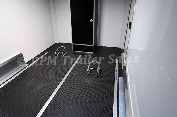 14' Aluminum ATC Motorcycle Trailer - 11095