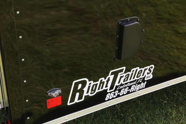 8.5x24 Race Trailer w/ Escape Door - Quality Built