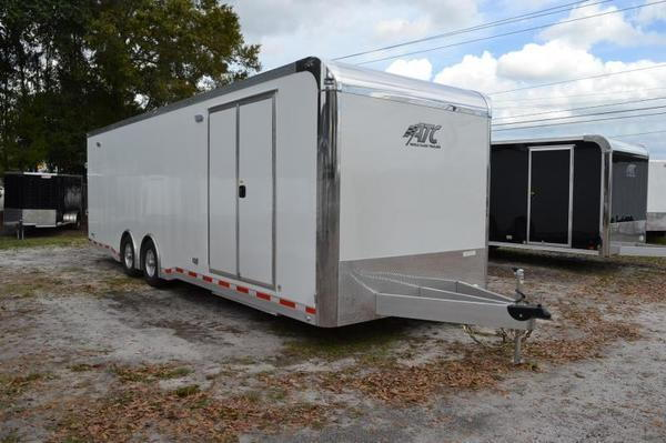 8.5x28 ATC Quest Enclosed Car Hauler Racing Trailer