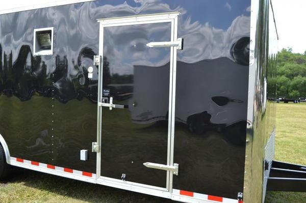 Save $1000 - 24' Race Trailer - Cabinets, Alum Wheels, LEDs