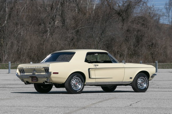 1968 Ford Mustang GT  for Sale $37,500