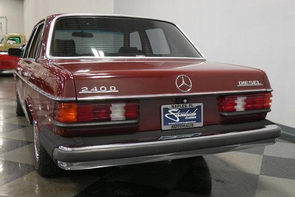1983 Mercedes-Benz 240D  for Sale $18,995