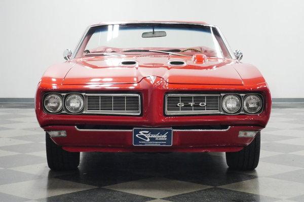 1968 Pontiac GTO Convertible  for Sale $54,995