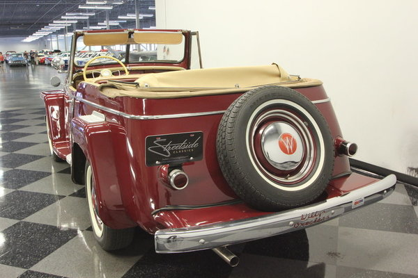 1948 Willys Jeepster  for Sale $36,995