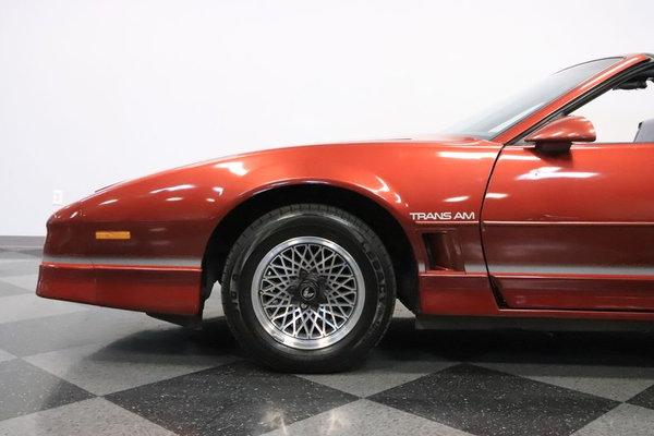 1986 Pontiac Firebird Trans Am  for Sale $13,995