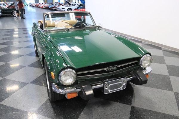 1976 Triumph TR6  for Sale $19,995