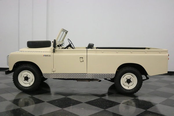 1967 Land Rover Series IIA  for Sale $43,995