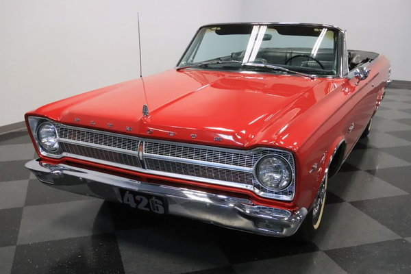 1965 Plymouth Satellite Convertible  for Sale $36,995