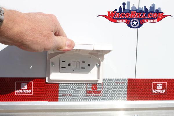 32' United Super Hauler 12K SPD/ 110-12V-LED Wacobill.com