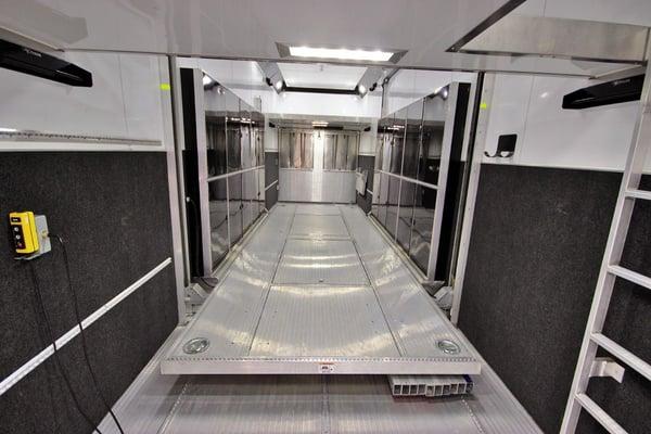 2017 ATC Quest ST305 53ft. Aluminum w/10,000lb. Axles Stacke