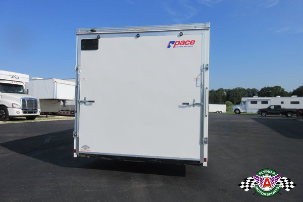 2019 Pace American 28' Cargo Sport Racer's Special