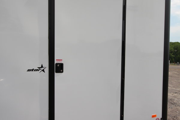 2021 Bravo Star 24ft. w/5,200lb. Axles Enclosed Car Trailer