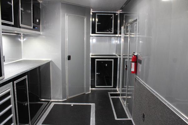 WOW! 34' With Full Bathroom! Aluminum Frame