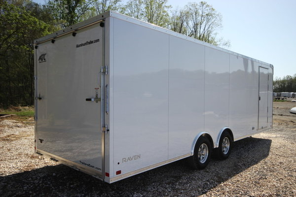 2018 ATC Raven Plus 24ft Aluminum Enclosed Cargo Trailer