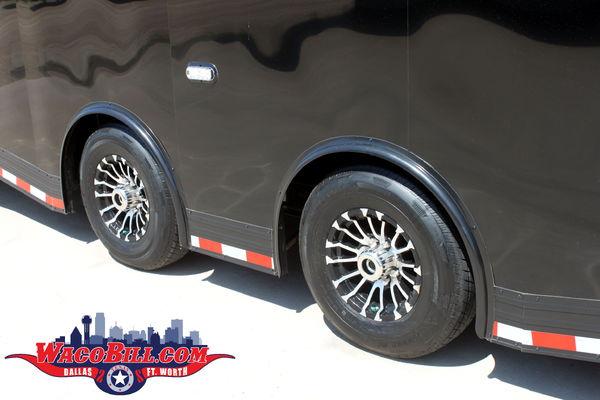 32' Blackout Auto Master +18 SPD Race Trailer Wacobill.com