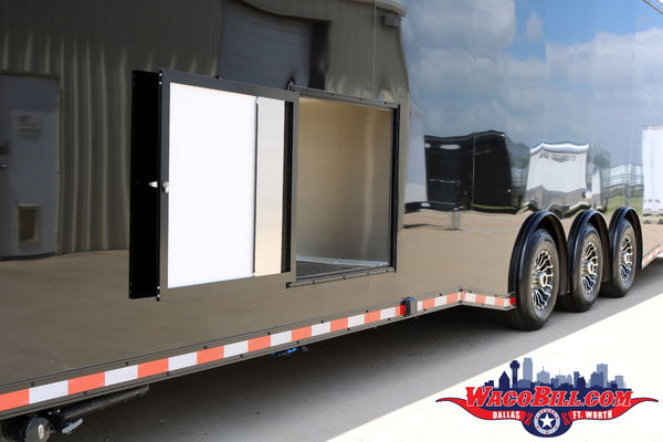 40' Bathroom/ Shower Package Race Trailer Wacobill.com
