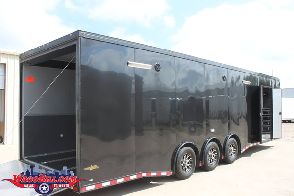 Used 32' Auto Master Black SPD-LED 12+X-Height Wacobill.com