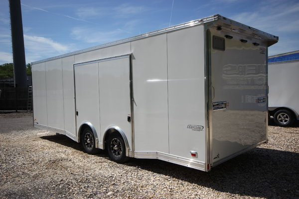 2020 BRAVO STAR 24ft Aluminum w/ 5,200lb Axles Enclosed Car