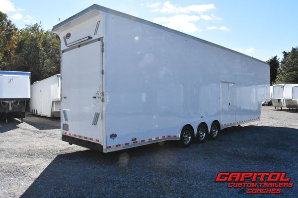 2019 UNITED SUPER HAULER 44' 2 CAR SPRINT CAR TRAILER