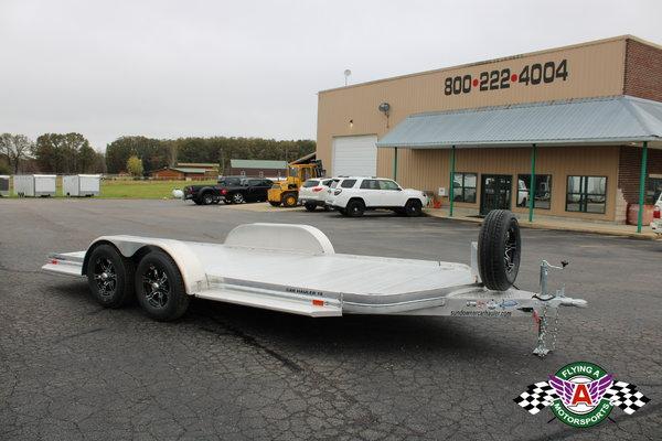 2021 Sundowner 18' Aluminum Open Car Hauler
