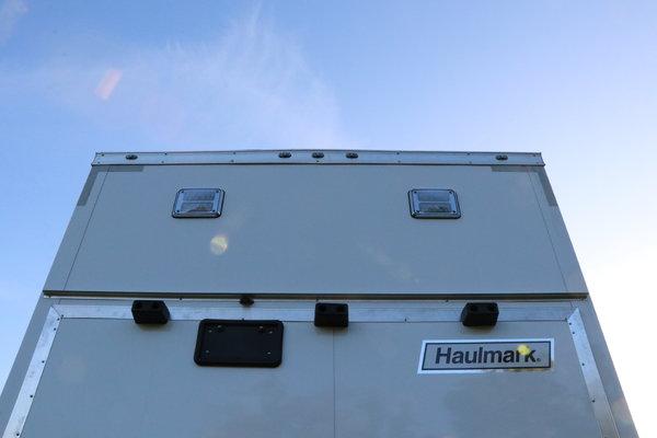 8.5'x28' Haulmark Stacker Race Trailer