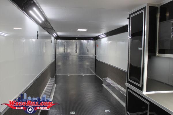 32' Bathroom/ Shower Package Race Trailer Wacobill.com
