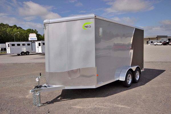 2021 NEO Trailers NAMR 7x14 Aluminum Motorcycle Trailer