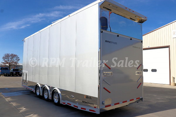 28' All Aluminum Stacker Trailer - 11707