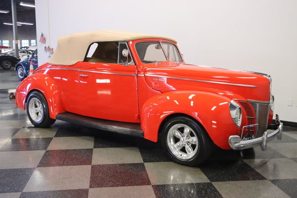 1940 Ford Deluxe Convertible Restomod  for Sale $72,995