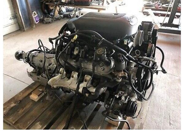 LS motor transmission & harness 5.3L 4L60E 2wd 80k  for Sale $2,500