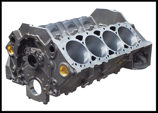 SBC CHEVY 427 DART SHORT BLOCK FORGED +10cc DOME 4.125  for Sale $3,550