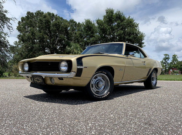 1969 Chevrolet Camaro Numbers Matching 350 V8  for Sale $54,900