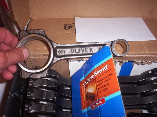 Oliver sbc rods  for Sale $350