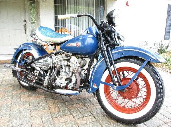 1947 Harley-Davidson WL  for Sale $6,250