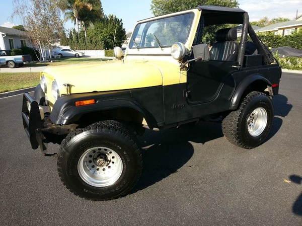 1977 Jeep CJ-5  for Sale $0
