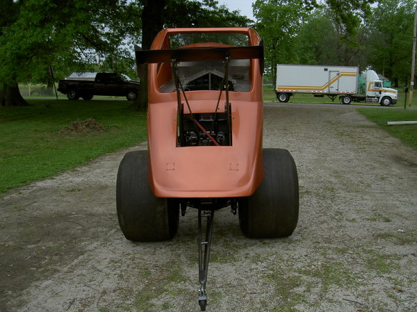 Altered Racing Car