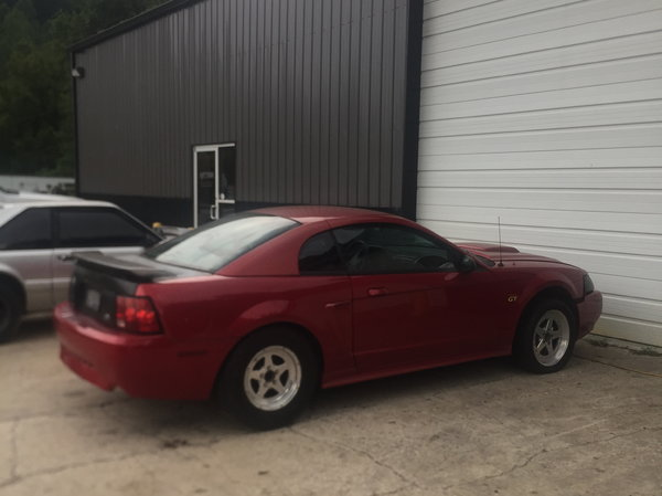 02 Mustang Turbo LS project car lots of parts!!  for Sale $7,000