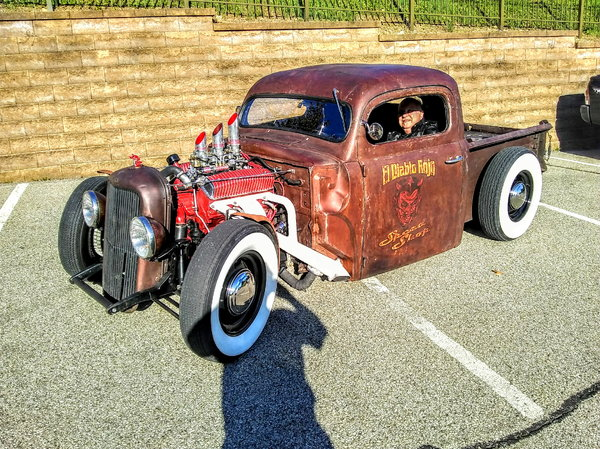 '51 Ford F100 rat rod bad ass!  for Sale $23,995
