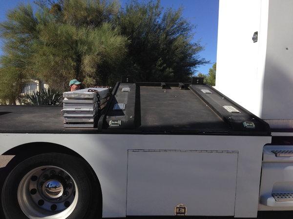 Private RV Hauler Conversion in Silver City New Mexico  for Sale $39,500