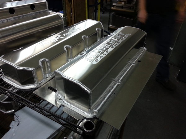 CUSTOM MADE FABRICATED VALVE COVERS  for Sale $349