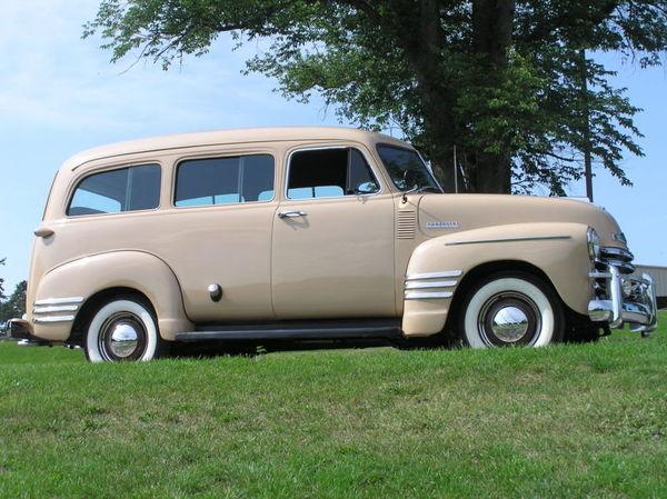 1952 Chevrolet Suburban  for Sale $17,100