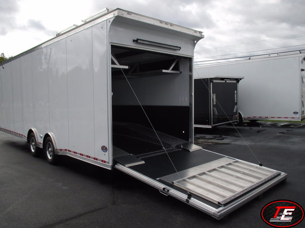 38' United Gooseneck Dirt Late Model Race Trailer  for Sale $41,995