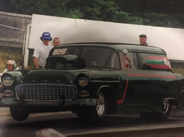 55 Chevy Sedan Delivery For Sale 28000