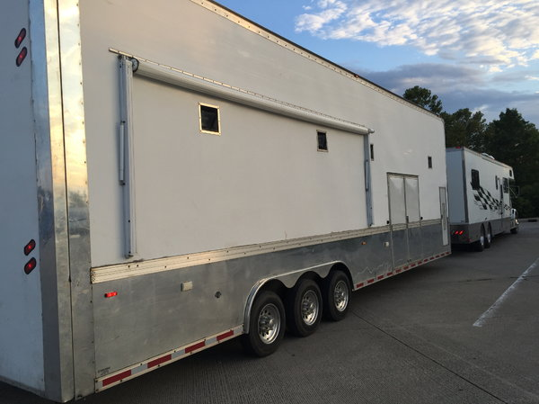 43 ft. Liftgate Haulmark Trailer with 12.5 generator  for Sale $37,500