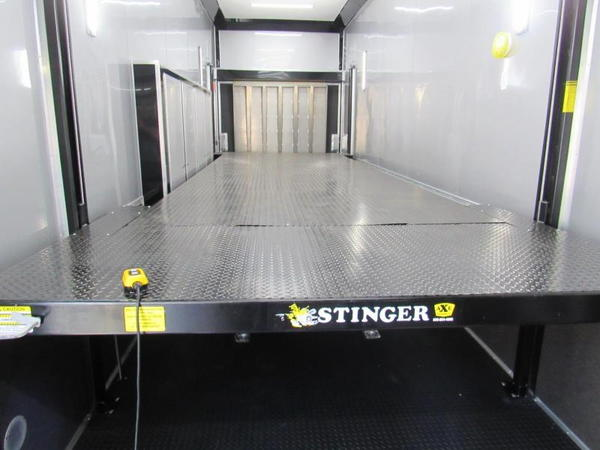 2020  32ft  Stacker with Dragster Lift Car by Cargo Mate  for Sale $49,999