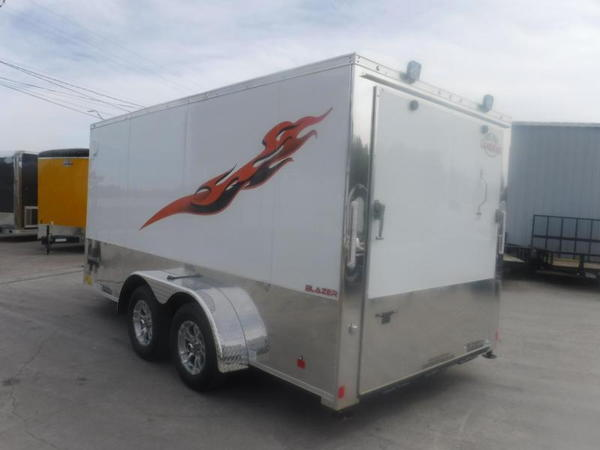 2020 Cargo Mate 7 x 14 Blazer Low Hauler Motorcycle Trailer  for Sale $7,499