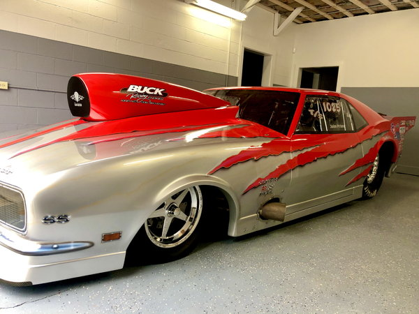 1968 McAmis Camaro, NOS 822 cubic inch RACE READY  for Sale $130,000