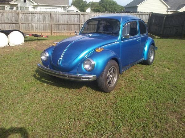 1972 Volkswagen Super Beetle  for Sale $5,500