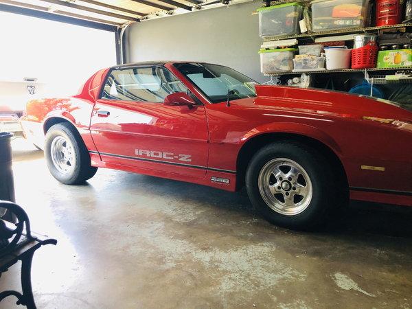 1986 Chevrolet Camaro  for Sale $25,000